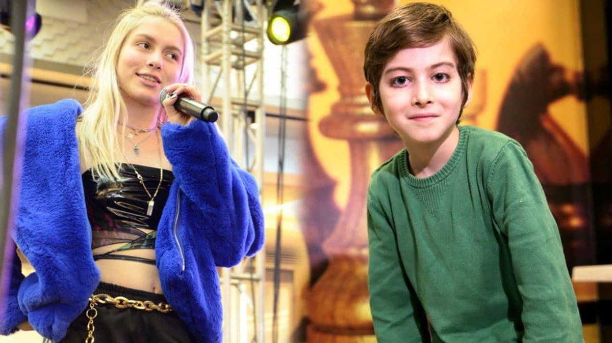 Aleyna Tilki'den 10 yaşındaki Atakan'a: Ruh eşim gibisin!