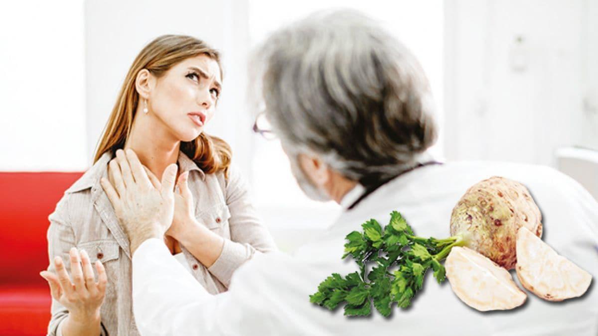 Kereviz kökü tiroidi dengeler