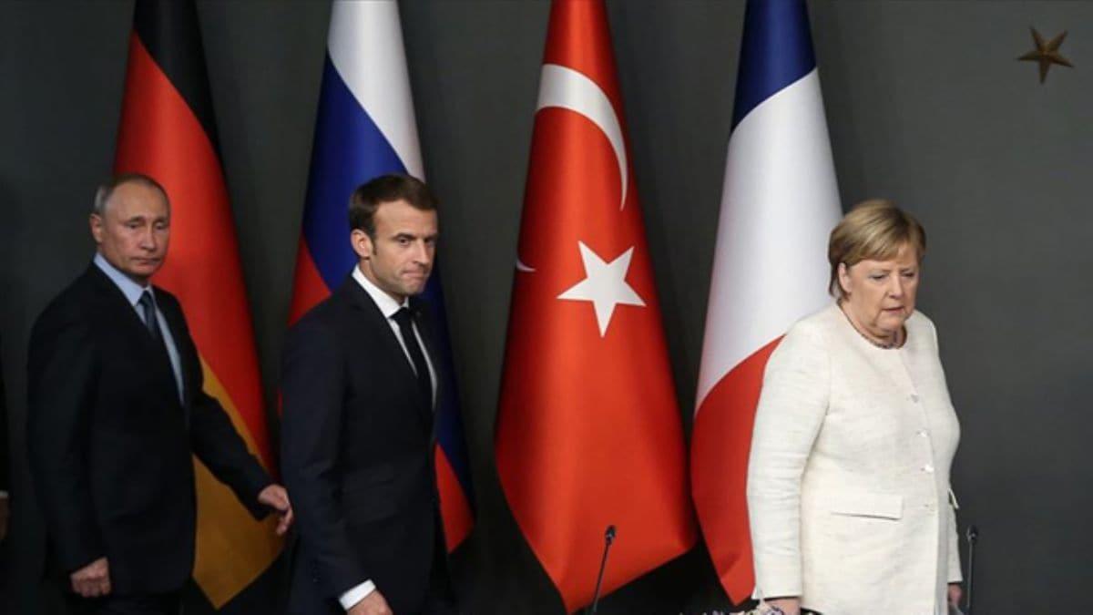 Merkel ve Macron'dan Putin'e çağrı: İdlib'deki çatışmalar derhal son bulmalı