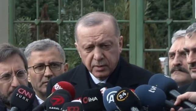 Başkan Erdoğan o görüşmeyi işaret etti: Bir savaş var diyebilirim...