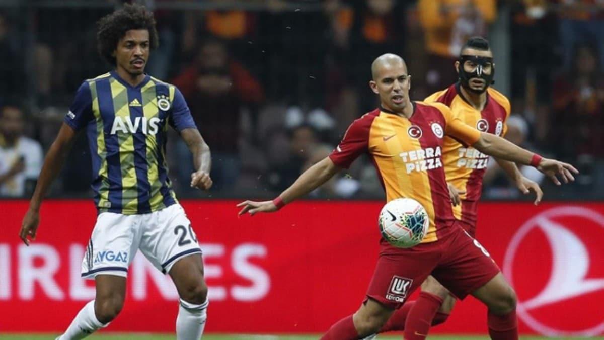 Fenerbahçe ikinci yarının, Galatasaray ilk yarının son 30 dakikasında tehlikeli