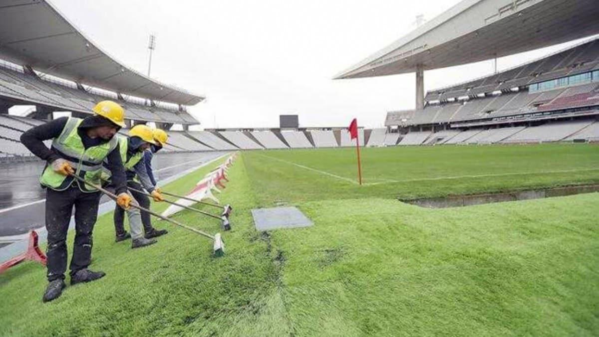 Son hali ilk kez yayınlandı! İşte Atatürk Olimpiyat Stadı'nın yeni hali...