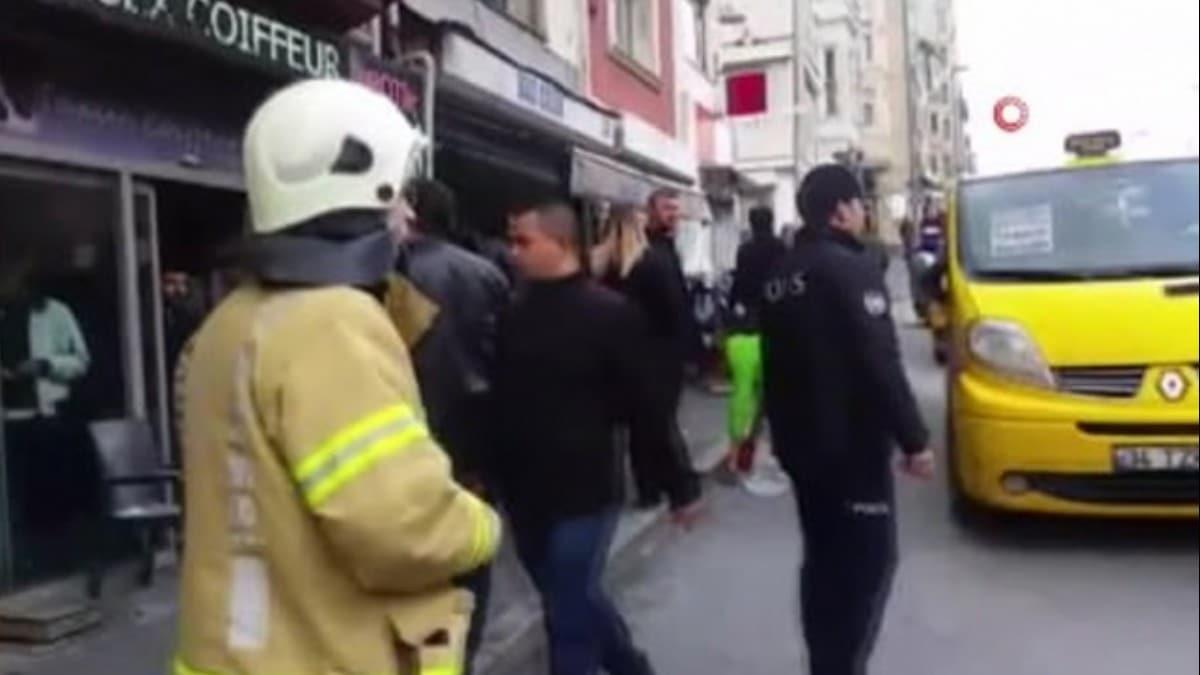 Beyoğlu'nda patlama!