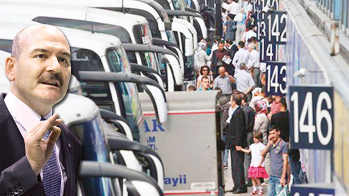 Soylu'dan otobüs firmalarına uyarı: Kurallara uymayanı ifşa ederiz!