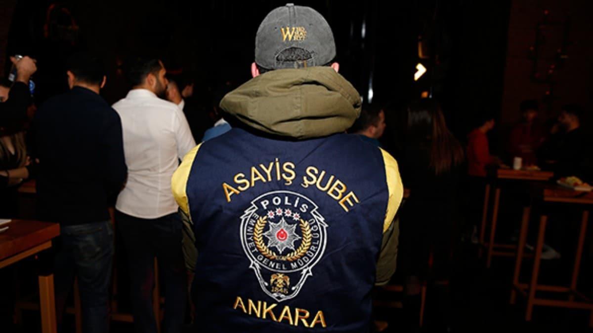 Ankara'da 500 polisin katılımıyla asayiş uygulaması