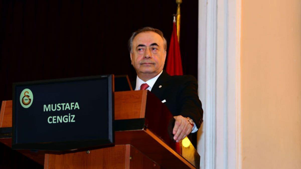 Mustafa Cengiz Galatasaray Başkanı olarak 9. derbisine çıkıyor