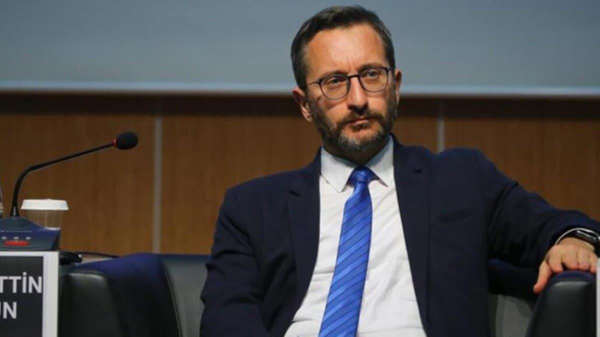 İletişim Başkanı Altun'dan İdlib çıkışı! 'Sabrımız çoktan taştı'