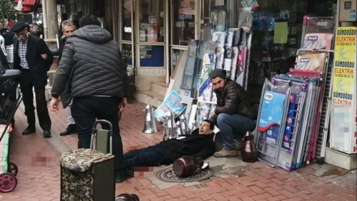 Manisa'da küfürlü mesaj cinayeti! Sokak ortasında vurup, polisle çatıştı