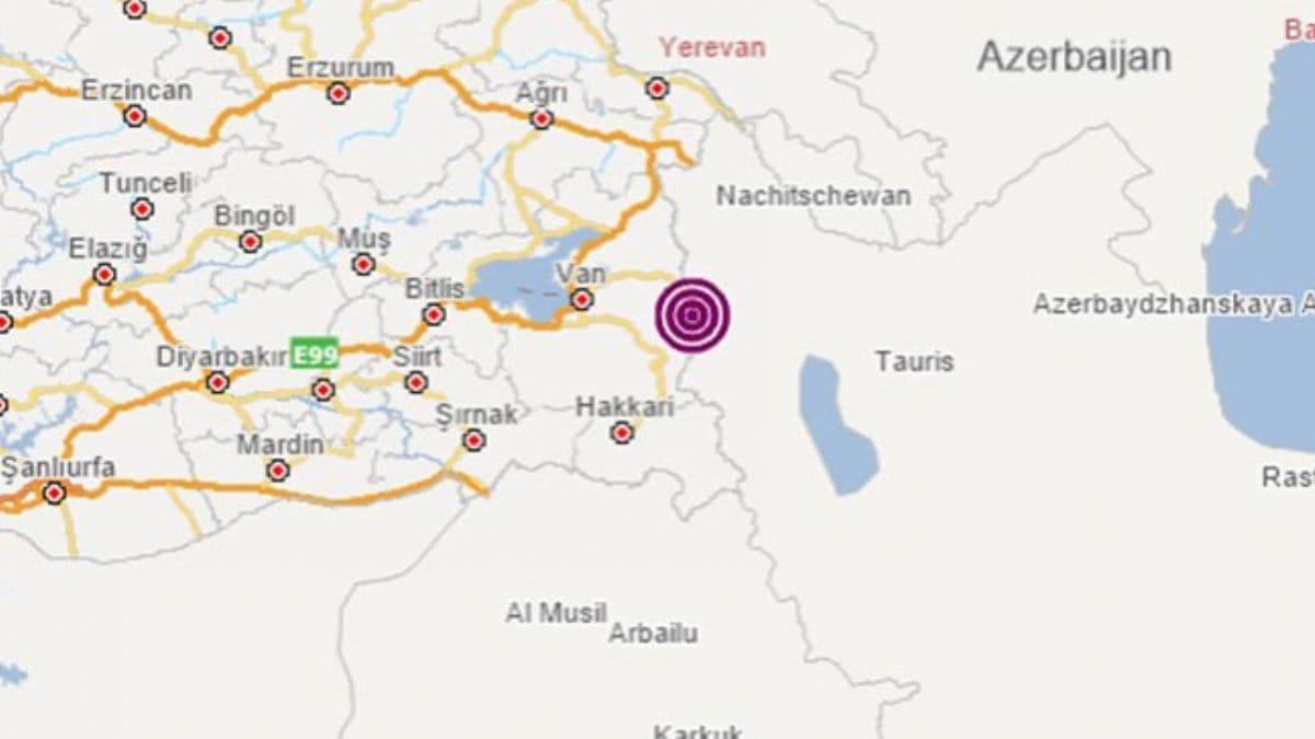 İran'daki 5,9'luk deprem Van'ı vurdu: 9 kişi yaşamını yitirdi