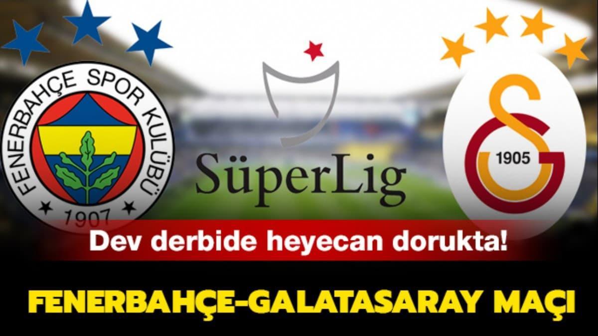 """Fenerbahçe-Galatasaray maçı nereden izlenir"""""""