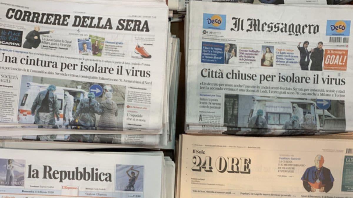 Türkiye'nin Vatikan Büyükelçisi paylaştı... İtalya'daki koronavirüs alarmında son durum!