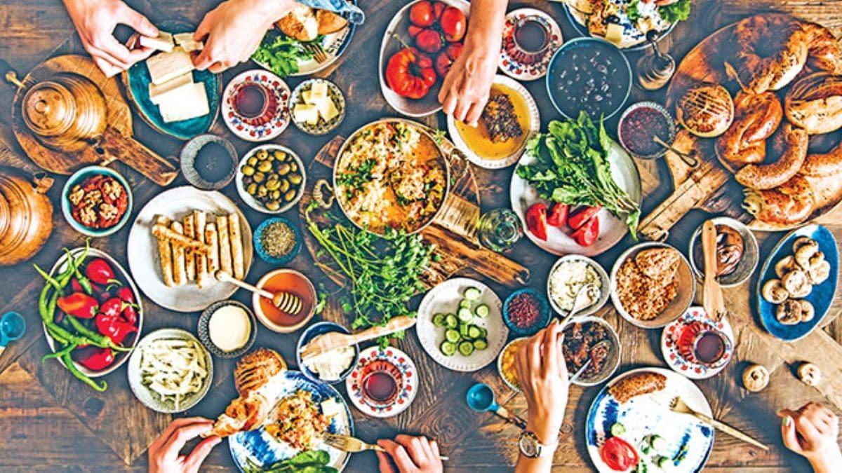 Serpme kahvaltıda 100 milyarlık israf