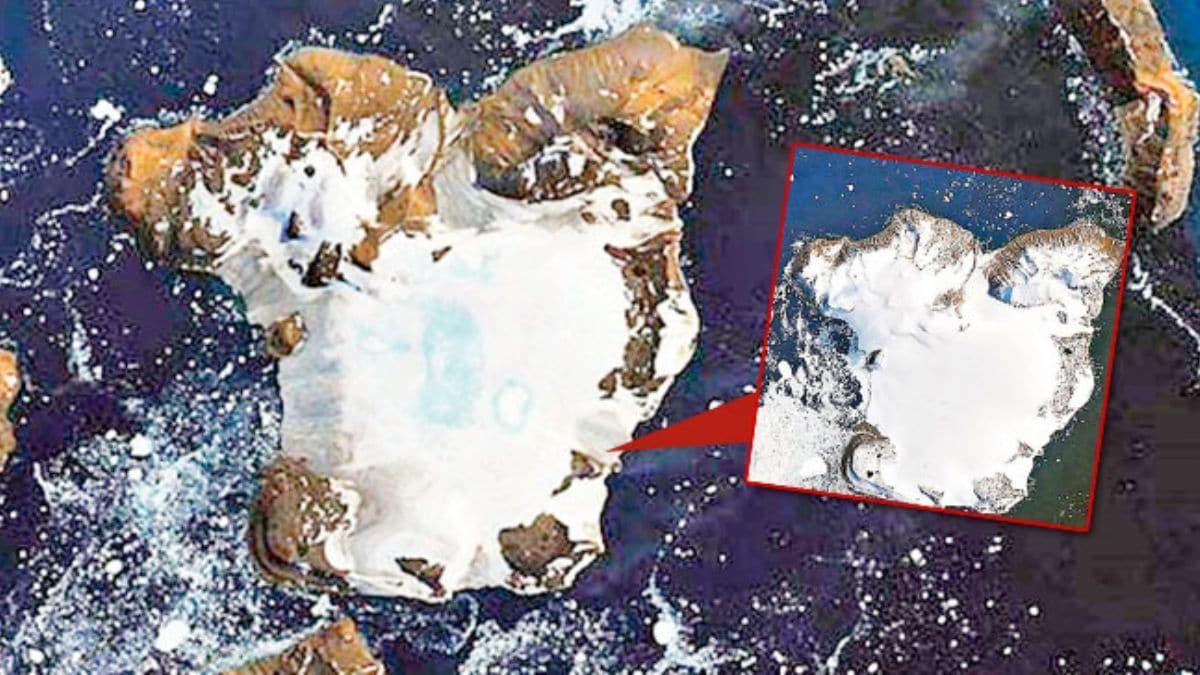 Buzul erimesi uzaydan görüntülendi