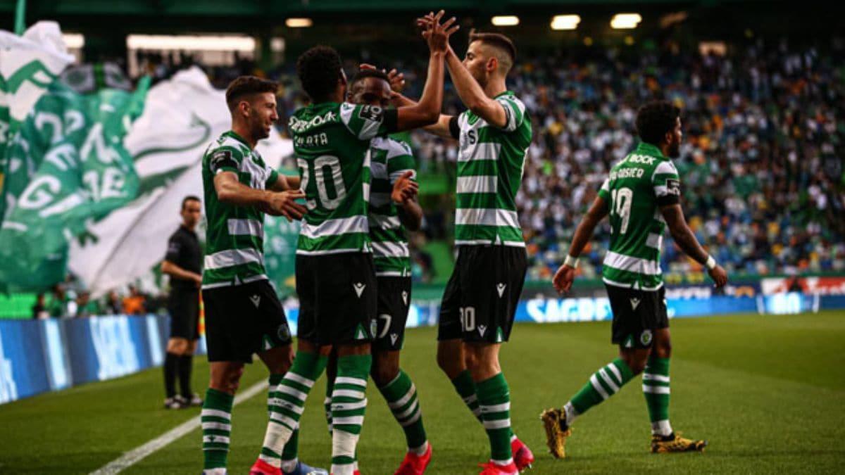 Başakşehir'in rakibi Sporting, ligde de tam gaz devam