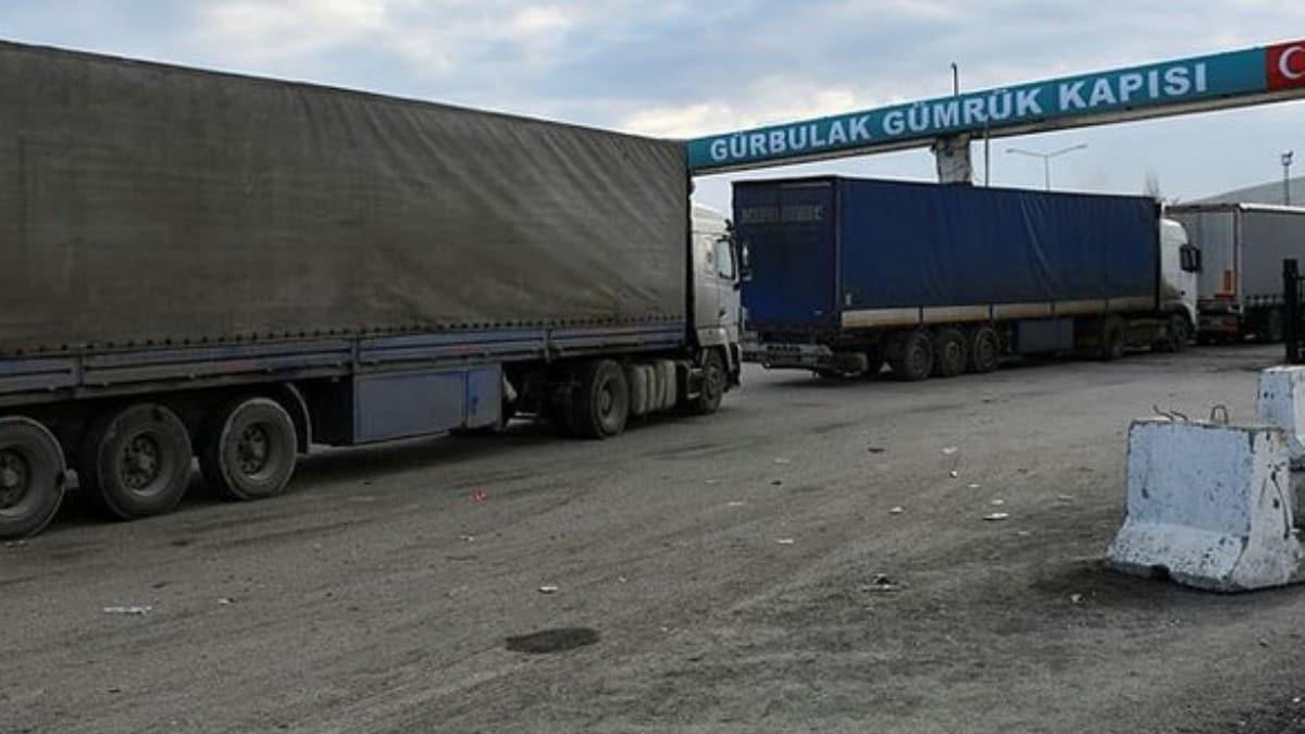 İran'a açılan Gürbulak kapatıldı, TIR kuyruğu 5 kilometreye ulaştı