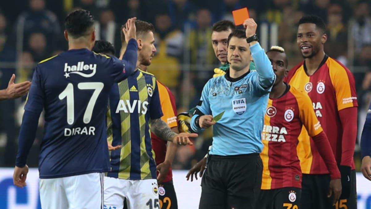 Son 53 Fenerbahçe-Galatasaray derbisinde 309 sarı, 42 kırmızı kart çıktı