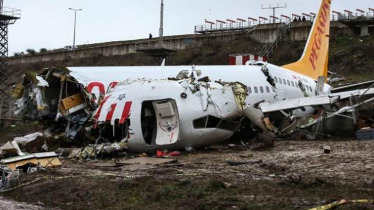 Sabiha Gökçen'deki uçak kazasıyla ilgili kaptan pilot adliyeye sevk edildi