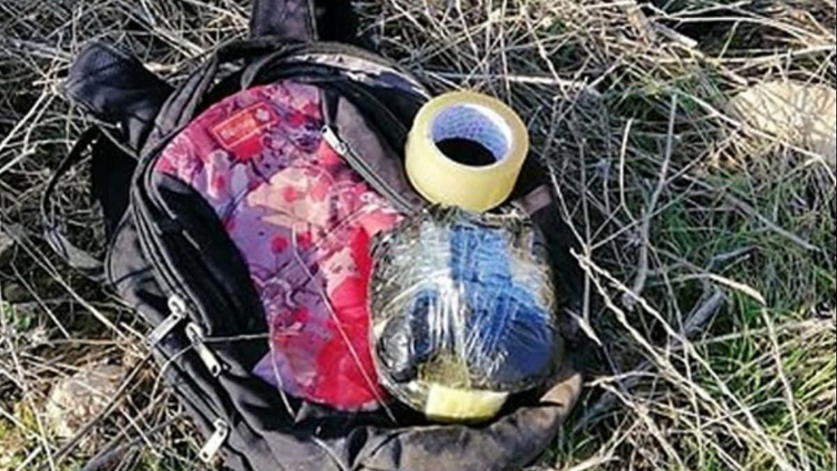 Şanlıurfa'da konserve kutusuna gizlenmiş bomba ele geçirildi