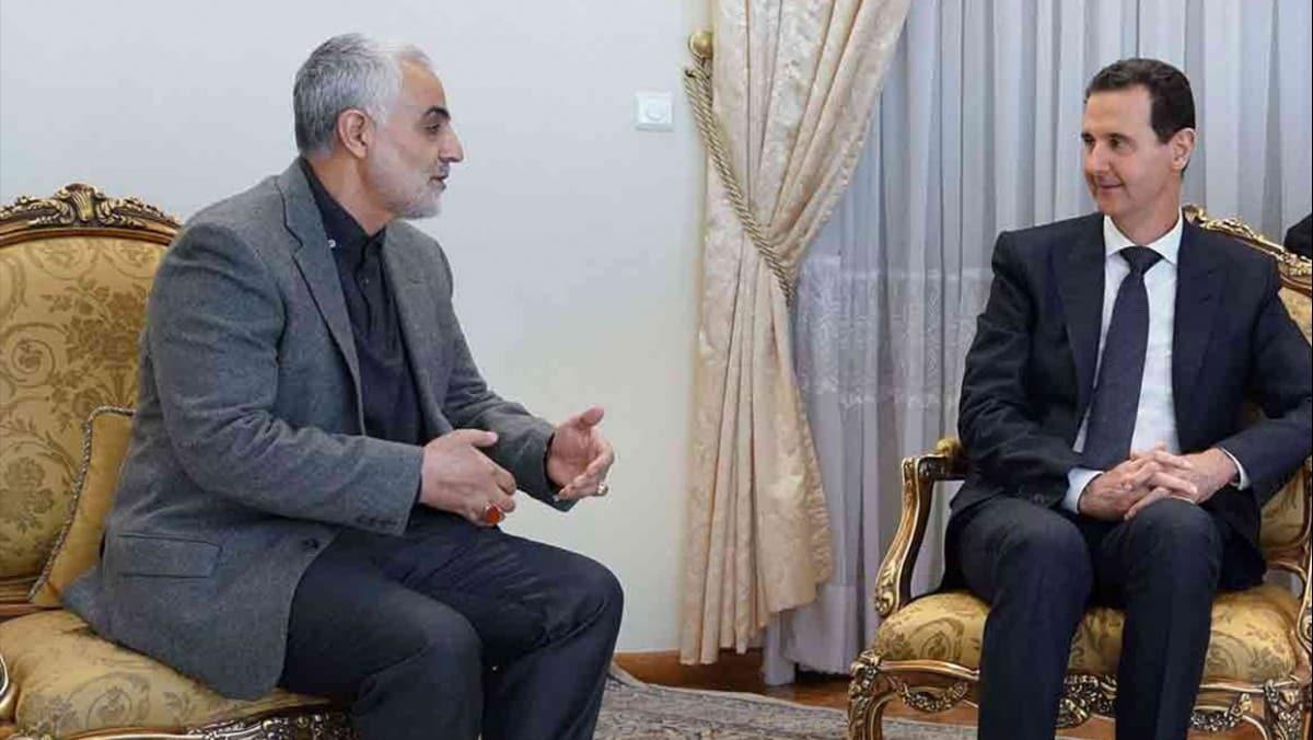 Dikkat çeken iddia: Kasım Süleymani, Esed'in istifasına engel oldu