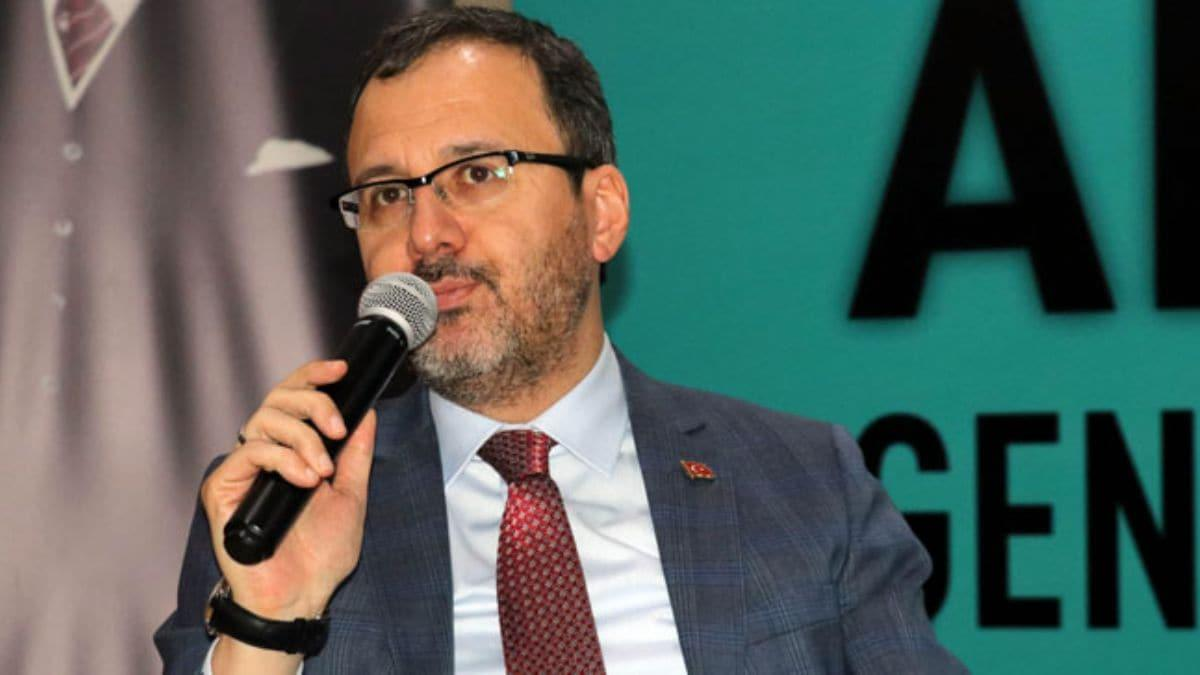 Bakan Kasapoğlu, Amasya Gençlik Buluşması'na katıldı