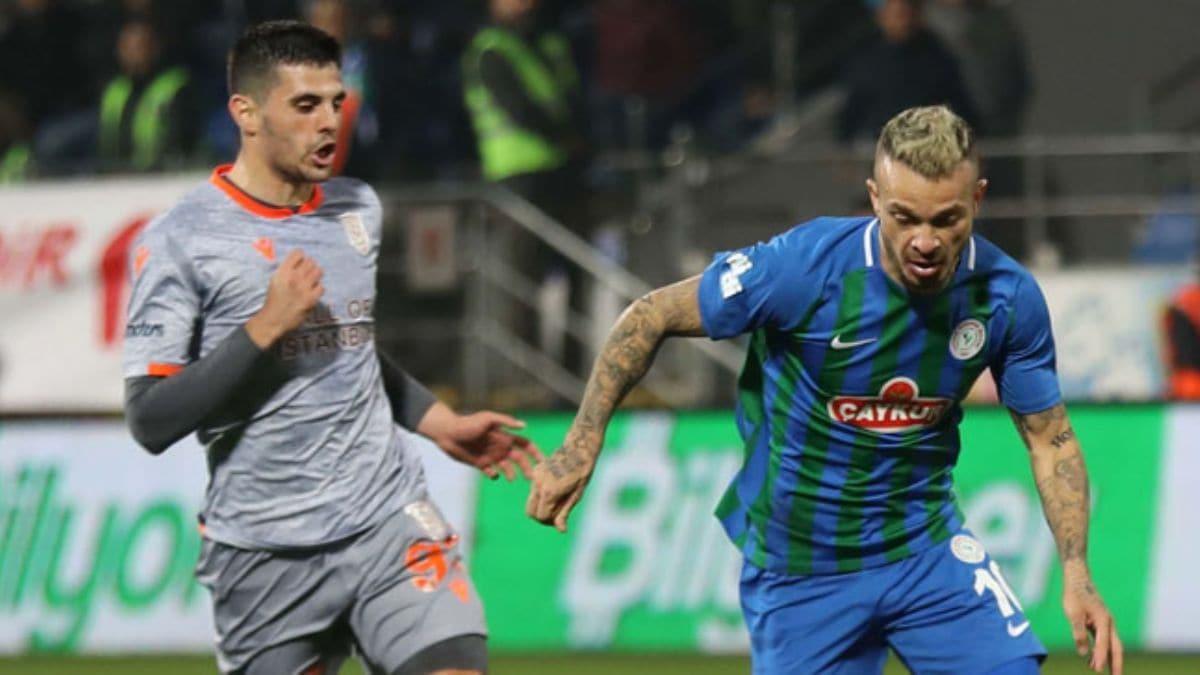 Medipol Başakşehir, uzatmada bulduğu golle Çaykur Rizespor'u mağlup etti