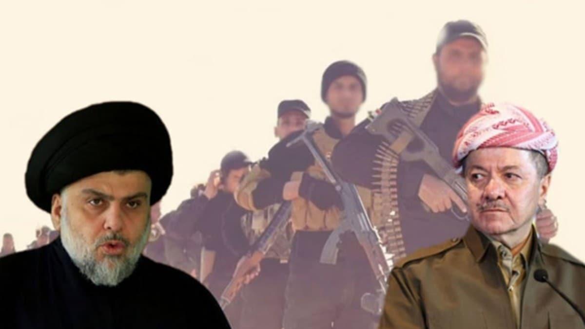 Sadr'dan Barzani'ye 'Peşmerge ve Haşdi Şabi' çağrısı: Lağvedelim