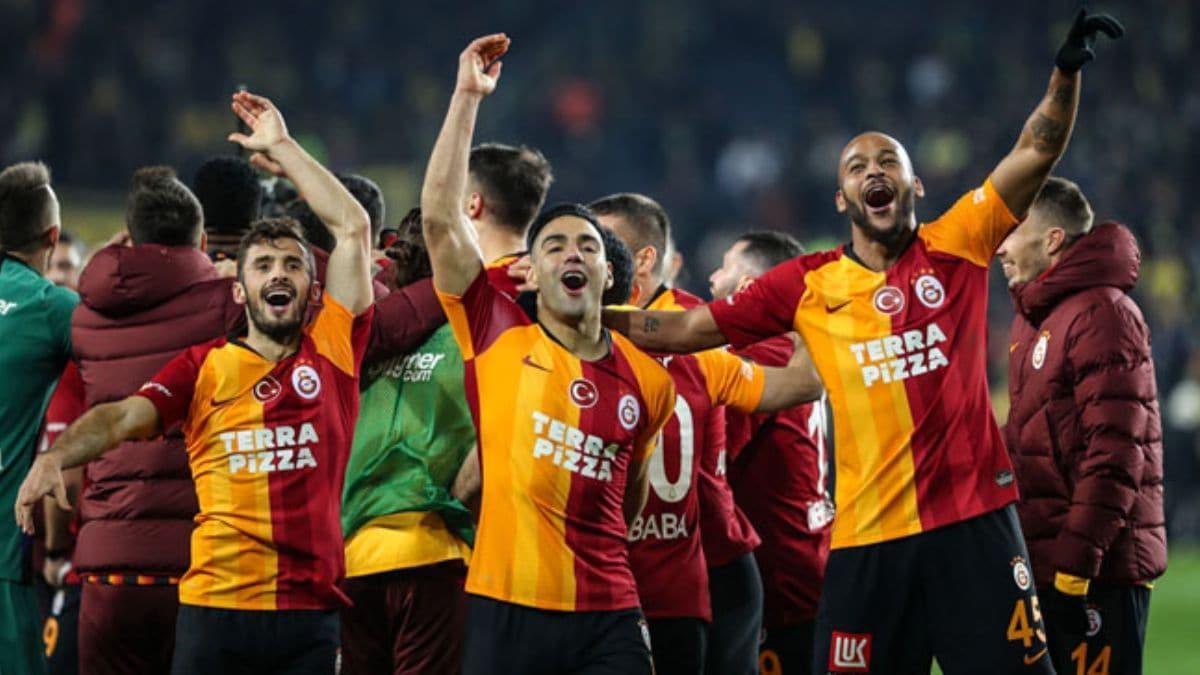 Galatasaray'da derbi galibiyeti için 4 milyon TL prim