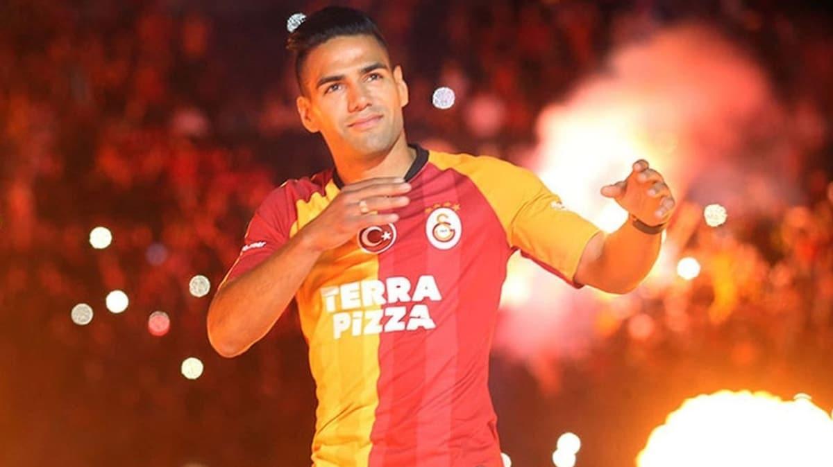 Radamel Falcao'ya tebrik kuyruğu