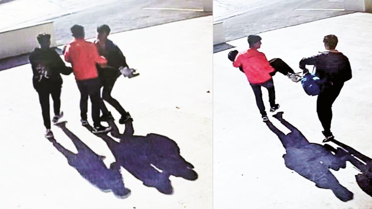 Video çekerken bayılana kadar dövdüler
