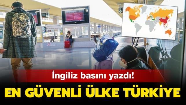 Koronasız tatilin adresi Türkiye