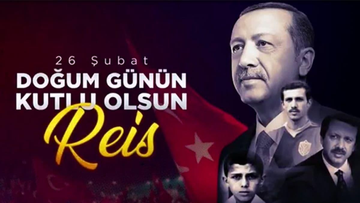 Başkan Erdoğan'ın doğum günü videosu büyük beğeni topladı