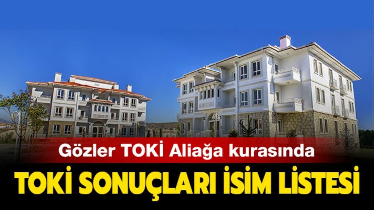 """TOKİ kura sonuçları isim listesi 2020 açıklandı mı"""" TOKİ İzmir Aliağa kura sonuçları isim listesi"""