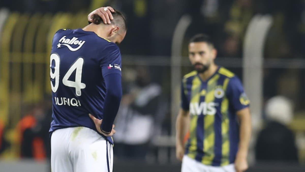 Vedat Muriç'le beraber Fenerbahçe de durdu