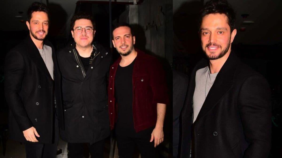 Murat Boz, Oğuzhan Koç ve İbrahim Büyükak'ın şarkı ve film kutlaması