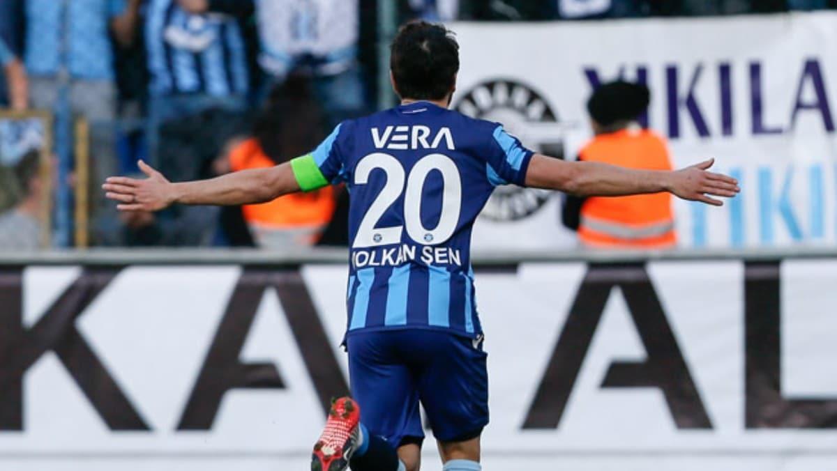 Adana Demirspor'da Volkan Şen şov!
