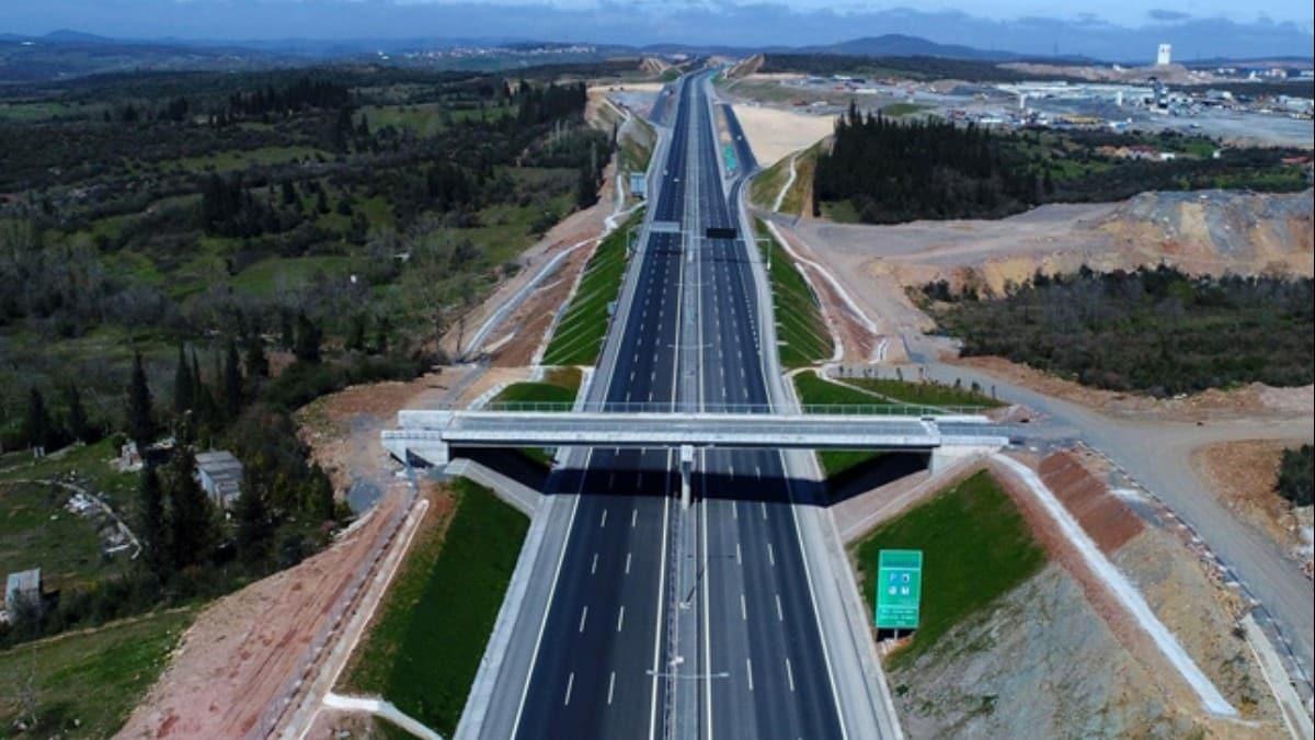 Kuzey Marmara Otoyolu'nun önemli bir kısmı açılıyor