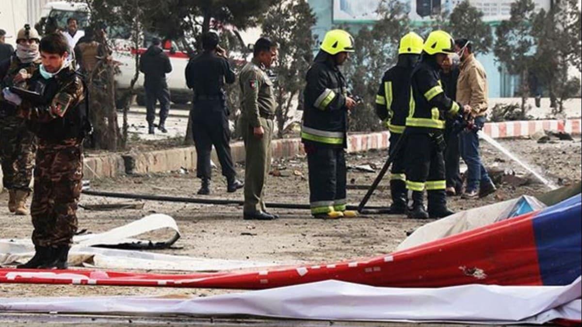 Kabil'de bombalı saldırı: 9 yaralı