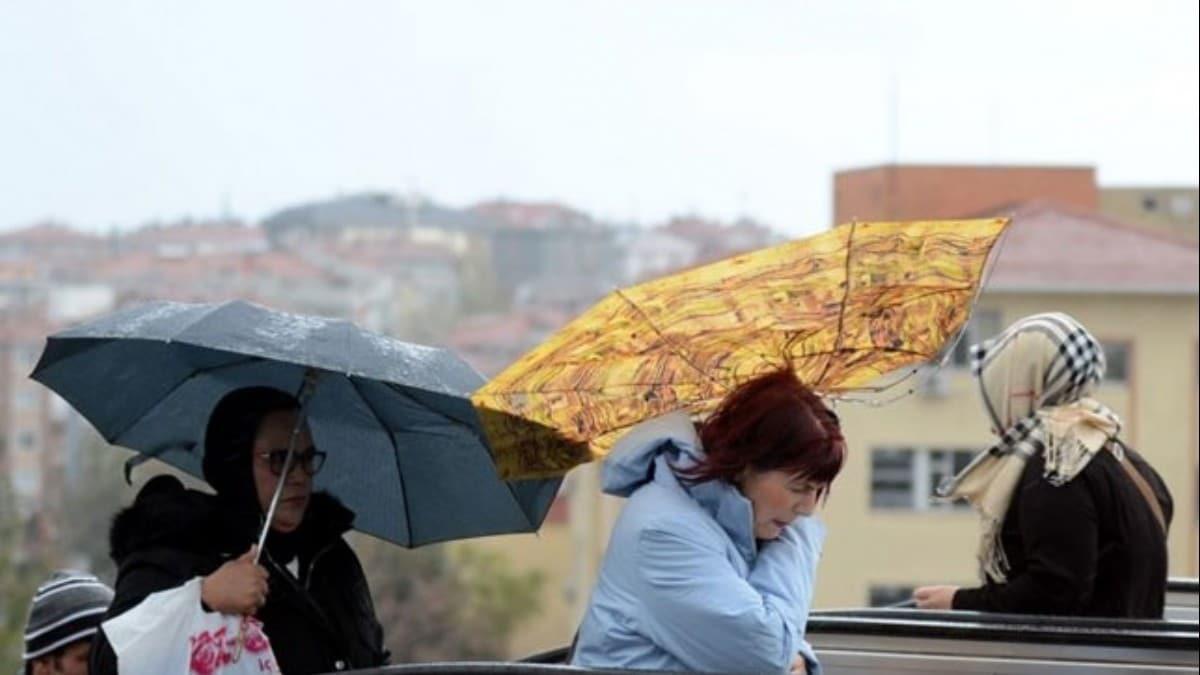 Ankara Valiliği fırtına uyarısında bulundu