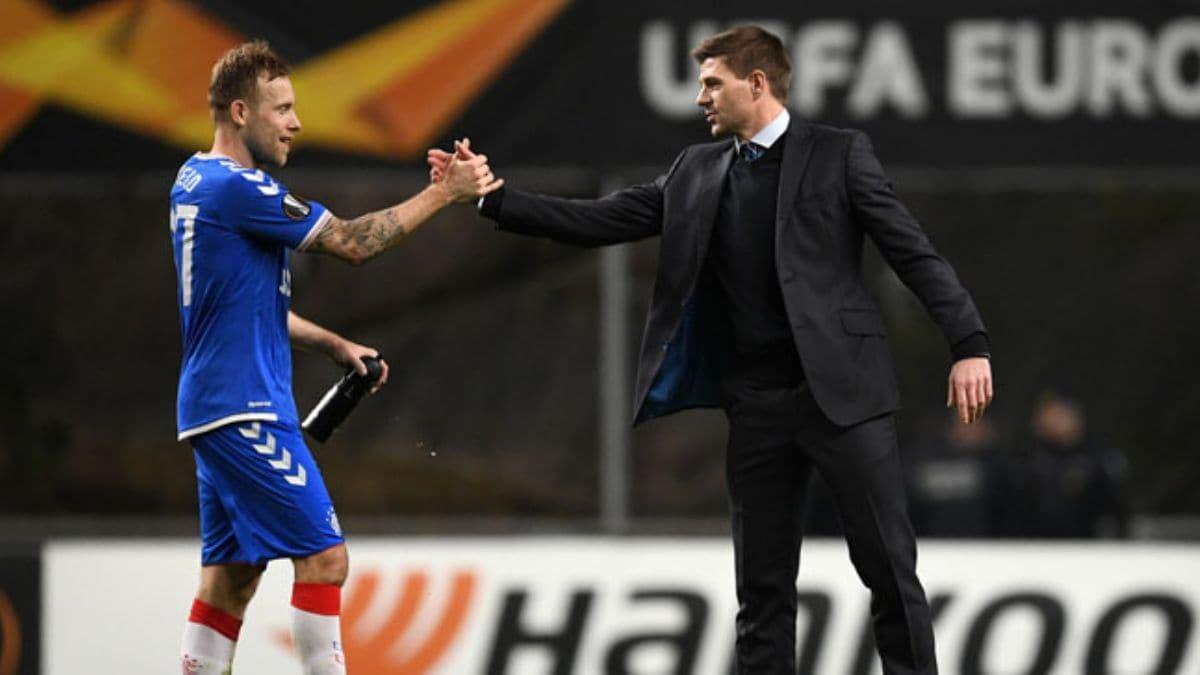 Braga'yı eleyen Glasgow Rangers Avrupa Ligi'nde son 16'da