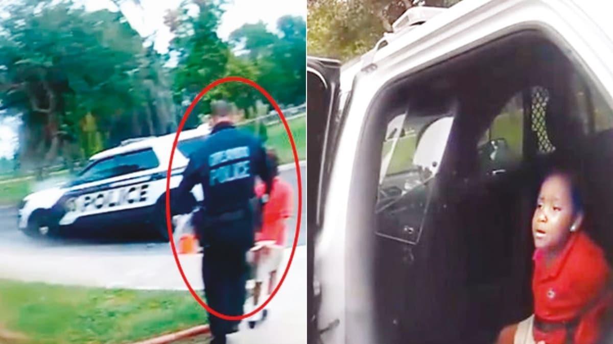 6 yaşındaki çocuğa kelepçeli gözaltı