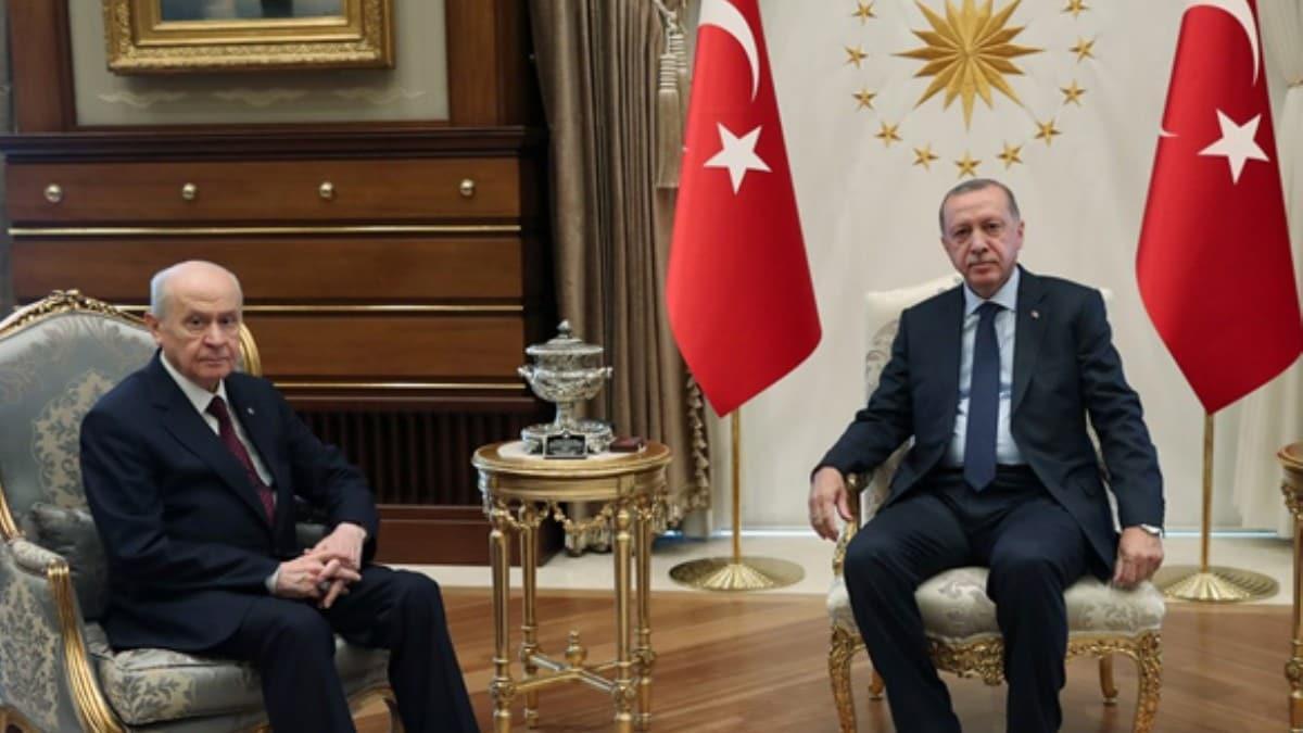 Başkan Erdoğan, saat 15.30'da Bahçeli ile görüşecek