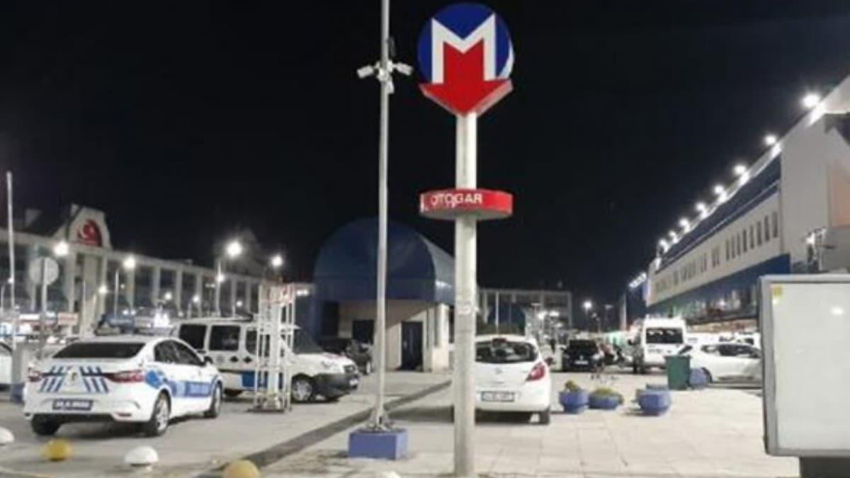 Otogarda polise silahlı saldırı!