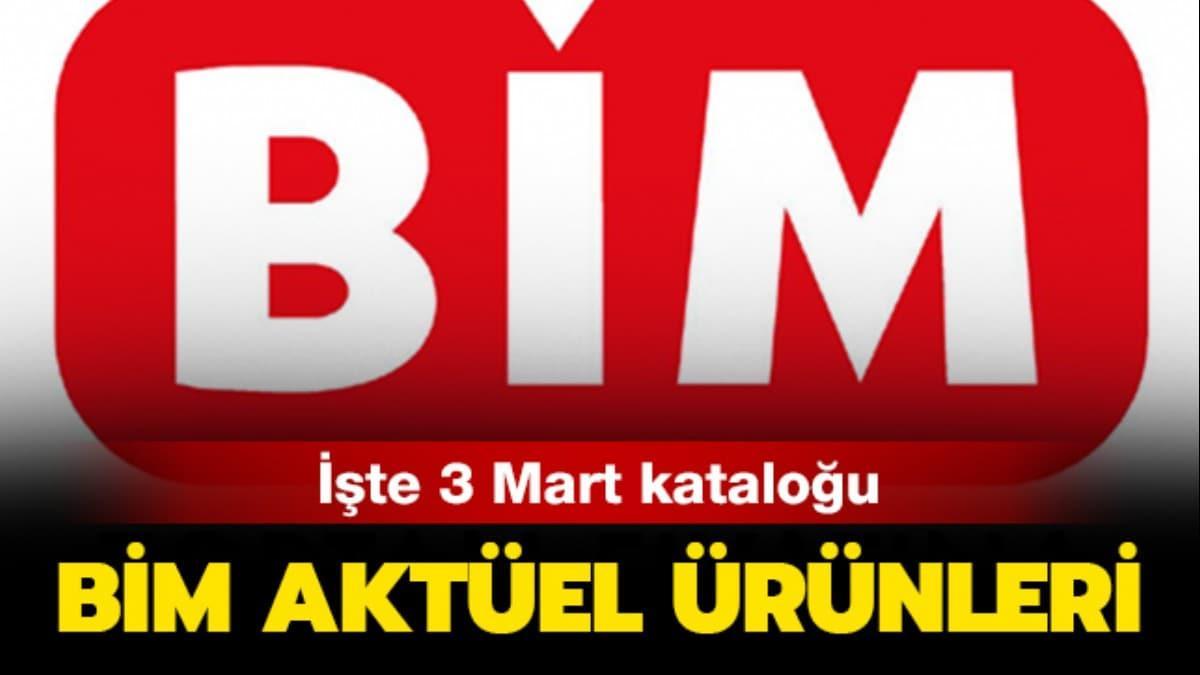 """BİM 3 Mart 2020 aktüel ürünler kataloğu yayında! BİM market aktüel ürünleri arasında neler var"""""""