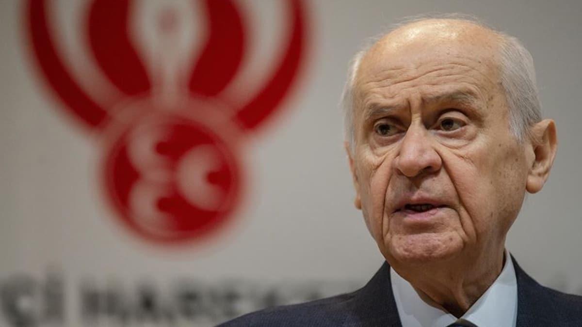 MHP Genel Başkanı Bahçeli'den İdlib ve Libya açıklaması: Türk devletinin duruşu Hak'tan yanadır