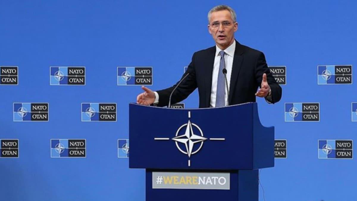 NATO'dan düşük dozajlı tepki: Stoltenberg itidal çağrısı yaptı!