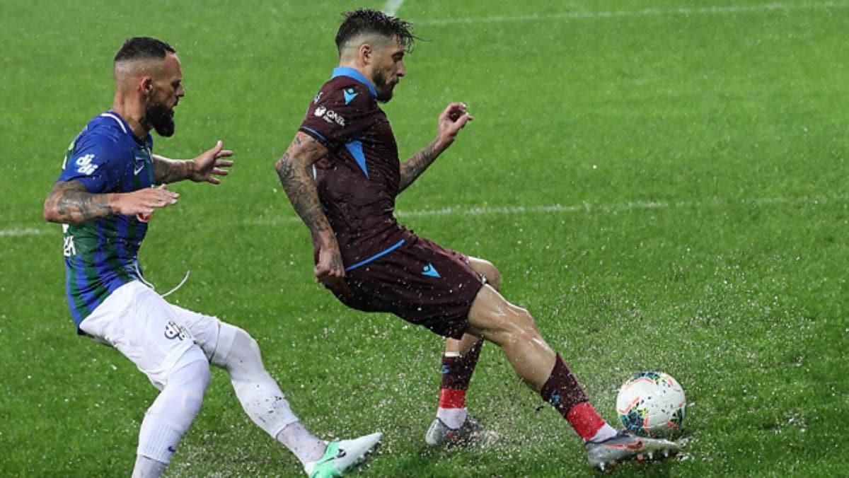 Trabzonspor ile Rizespor 38. randevuda