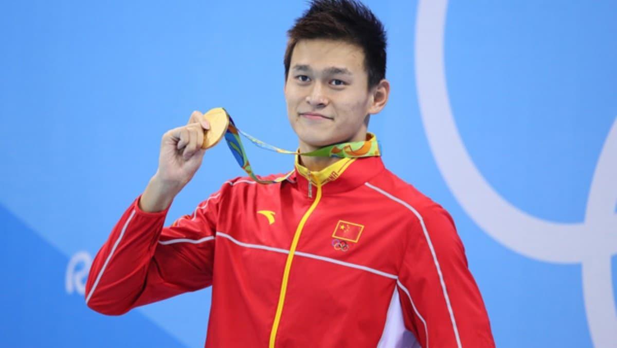 Olimpiyat şampiyonu Çinli yüzücü Sun Yang'a 8 yıl men cezası