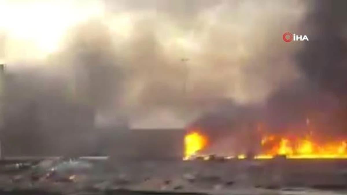 İran'ın Kum kentinde yangın: 5 ölü