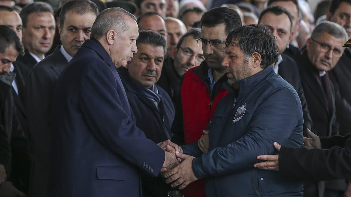 Başkan Erdoğan şehit cenazesinde konuştu: Şehitler tepesi boş kalmayacaktır