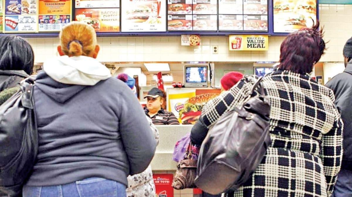 İşte ABD'nin beslenme kabusu! Yetişkinlerin %40'ı obez